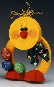 Cheery Easter Chick