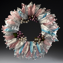 Pastel Holiday Wreath