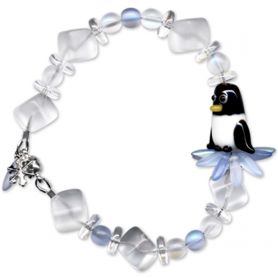 Winter Penguin Bracelet