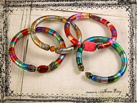 Brightly Colored Bangles