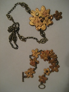 Gold Flower Jewelry