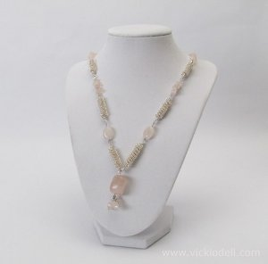 curly twirly ballerina necklace