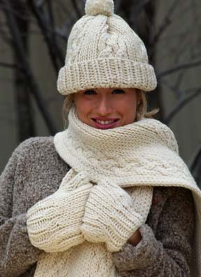 Knitting Patterns For Men s Hats And Scarves : 15 Free Knitting Patterns for Cold Weather + 4 More ...
