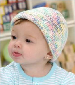 Easy To Knit Sweet Baby Hat Favecrafts Com