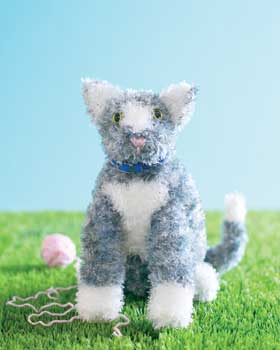 Kitten Knit Toy
