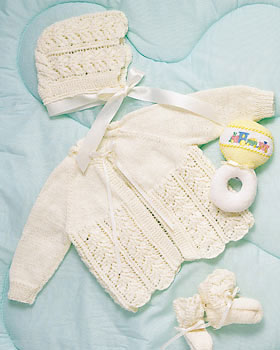 Knit Baby Layette