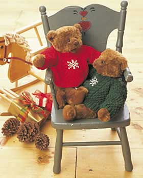 Knit Bear or Doll Sweater