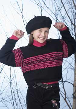 Knit Norwegian Sweater