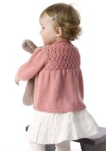 Strawberry Baby Cardigan 3