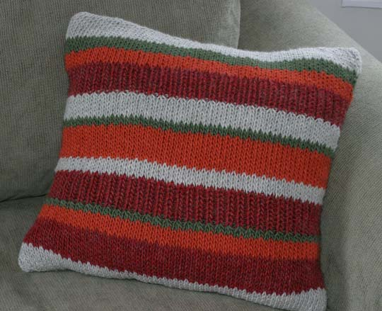 Stripe Floor Pillow Cover