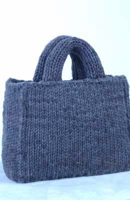 Little Knit Tote Bag