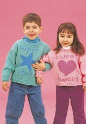 Kids Super Star and Sweetheart Sweaters