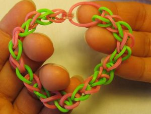 Loopy Rubber Band Bracelet