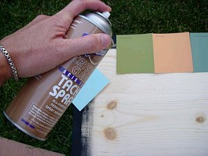 Mosaic of Paint Chips 5