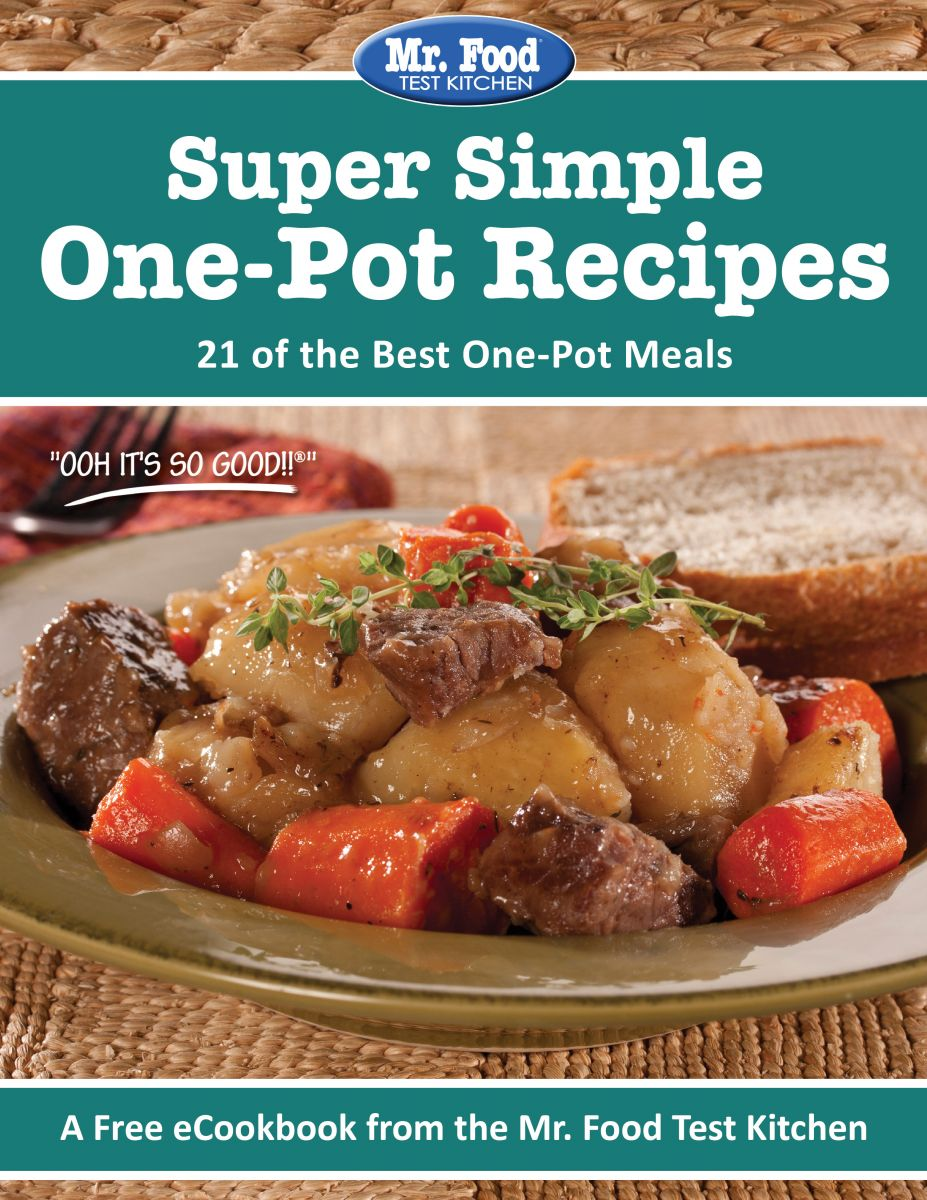 Super Simple One-Pot Recipes FREE eCookbook