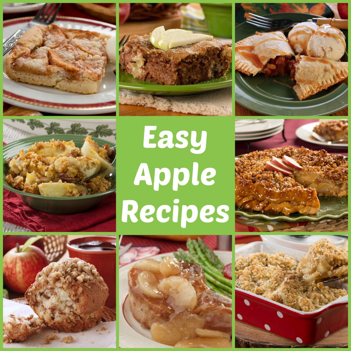 Apple Dumplings: Easy Apple Recipes
