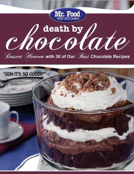 Death by Chocolate FREE eCookbook