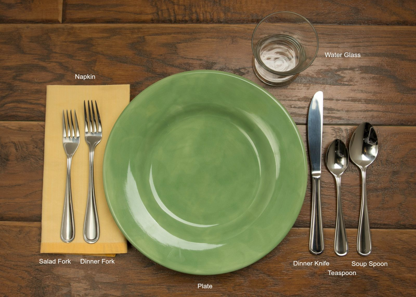 Table setting 101 for To the table