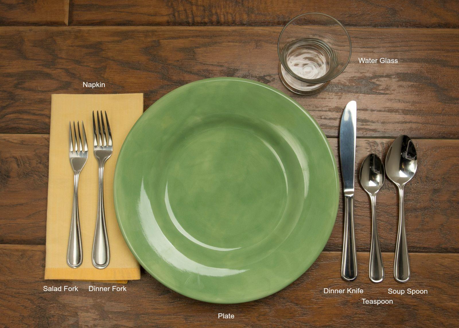 Informal Table Setting