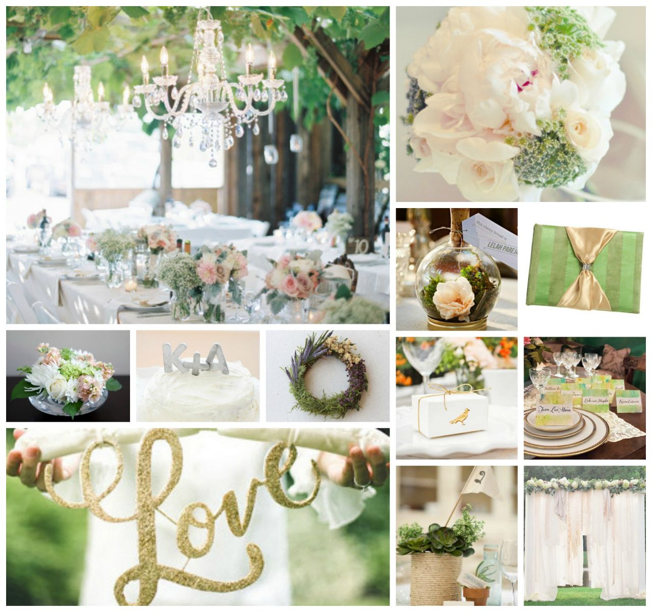 Color Ideas For Weddings: Wedding Color Schemes: Neutrals