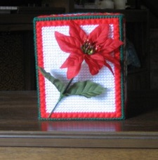 Poinsettia and Stars 2