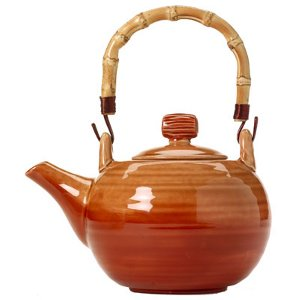 Glazed Ceramic Teapot