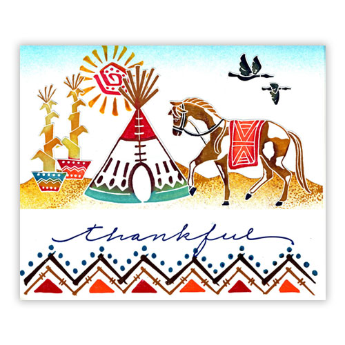 American Indian Card 8
