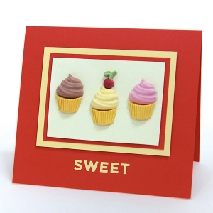 Cupcakes are Sweet Card