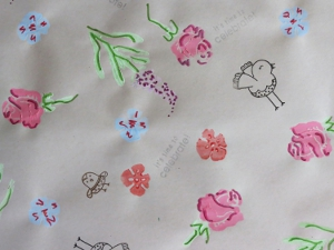 Adorable DIY Spring Wrapping Paper