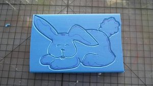 Foam Bunny Stamp