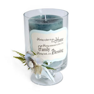 Home Blessing Candle