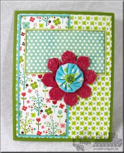 How to Mix Patterned Paper