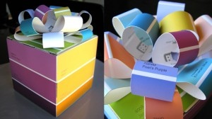 Paint Chip Gift Box
