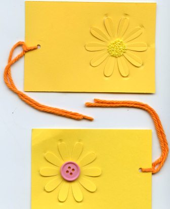 Simple Daisy Gift Tag
