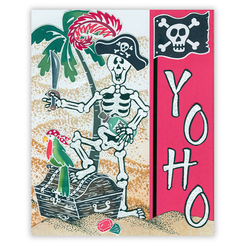 Pirate Stamp Card 2