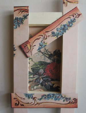 Vintage Butterfly Shadow Box