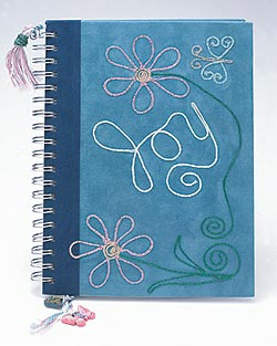Iron-on Joy Journal