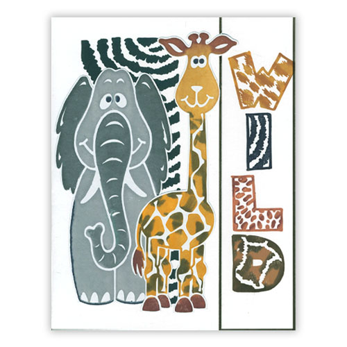 Playful Jungle Card 2