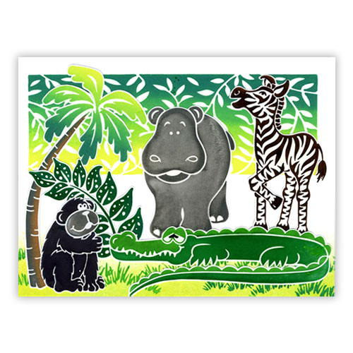 Playful Jungle Card 3