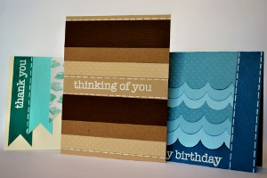 ombre card set