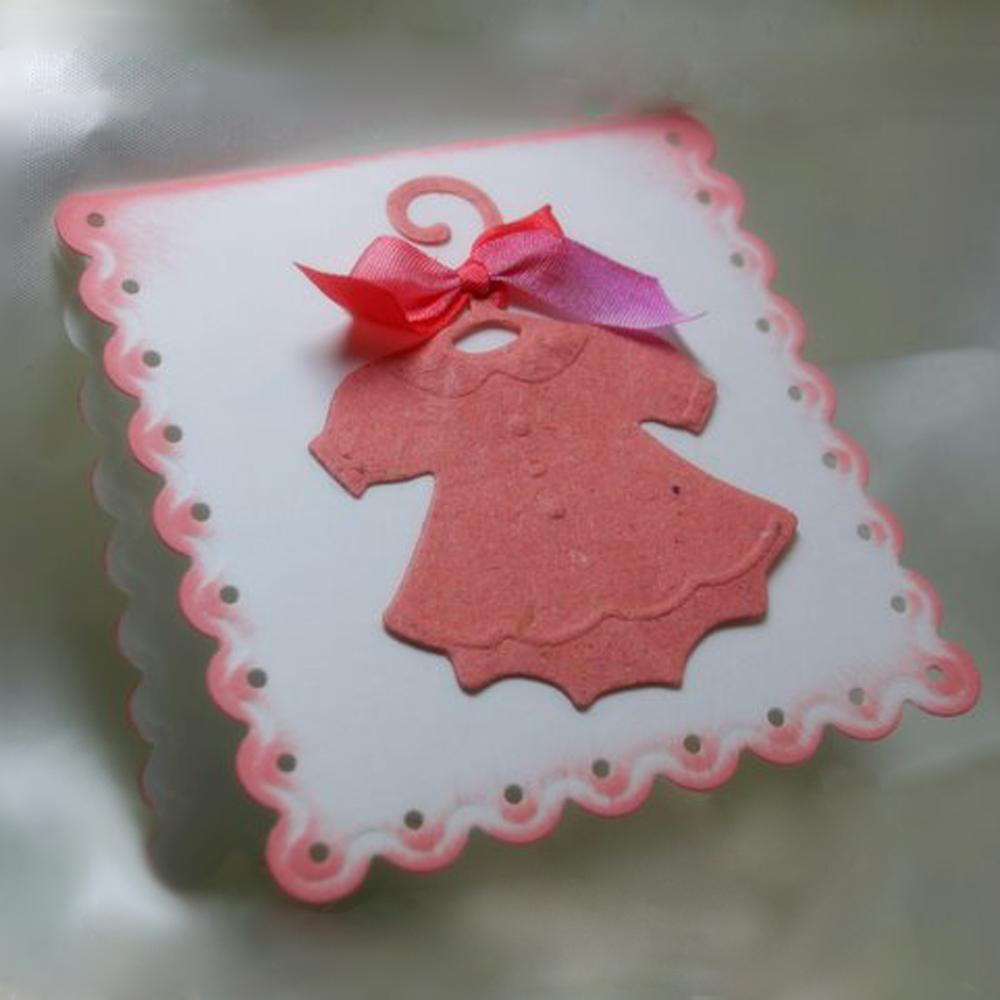Sweet Baby Dress Gretting Card