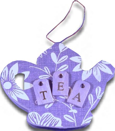 Tea Party Paper Ornament