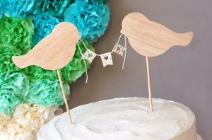 Love Birds Wedding Decor