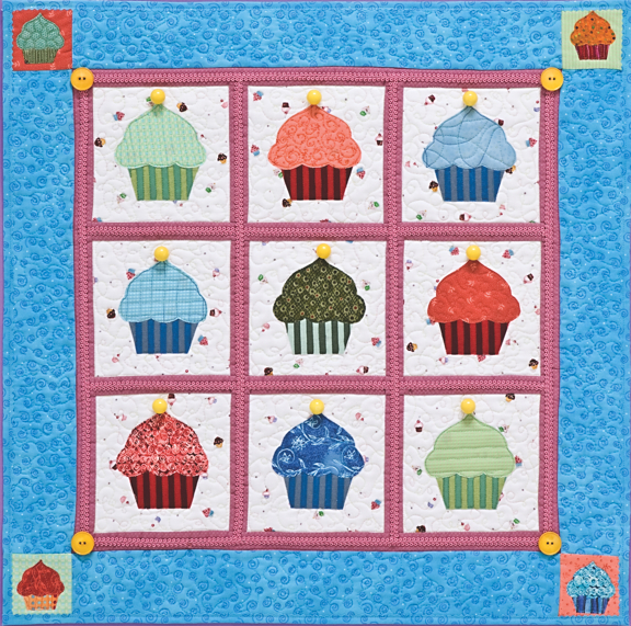 Cupcakes Quilt from C&T Publishing | FaveCrafts.com : quilt cupcakes - Adamdwight.com