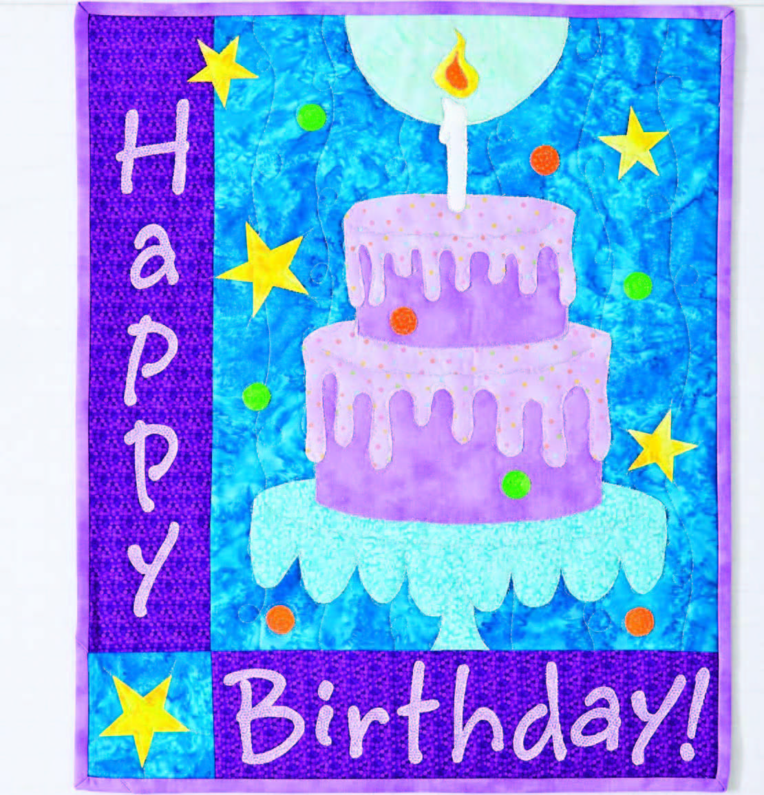 Happy Birthday Cake Quilt From C&T Publishing