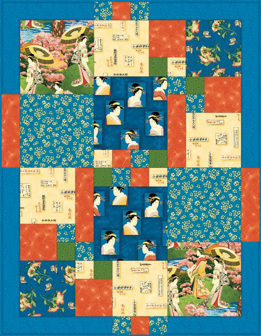 Japanese Afternoon Quilt