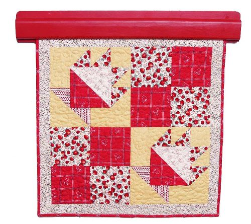 Strawberry Basket Quilt