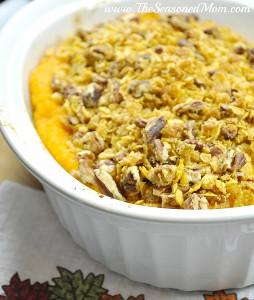 harvest fondue apple and butternut squash casserole - Halloween Casserole Recipe Ideas