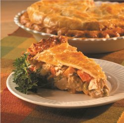 Comfort Turkey Pot Pie