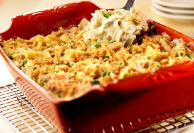 Crowd Pleasing Tuna Noodle Casserole